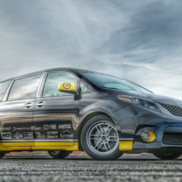 Racing A Toyota Sienna and Learning Things I Already Knew