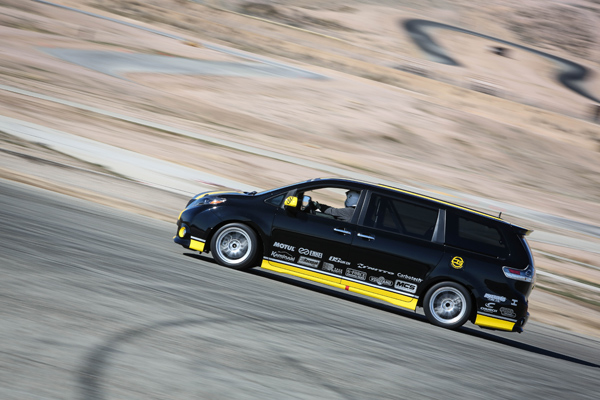Toyota Sienna R-Tuned Real Performance_On Track Jeff Bogle #2