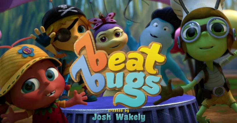 Beat Bugs Netflix Beatles Songs StreamTeam