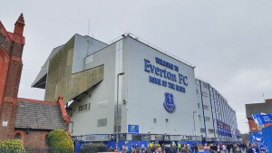 Everton FC Goodison Park Exterior View Arsenal Match March 2016