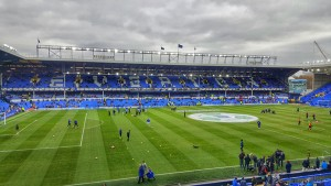 Everton FC Goodison Park Interior View Arsenal PreMatch March 2016