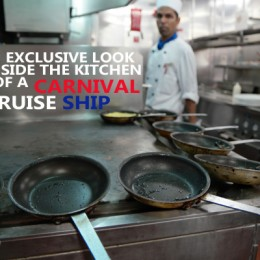 An Exclusive Look Inside A Carnival Cruise Ship Kitchen
