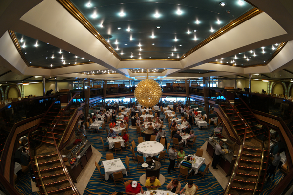 Carnival Cruise Sunshine Main Dining Room