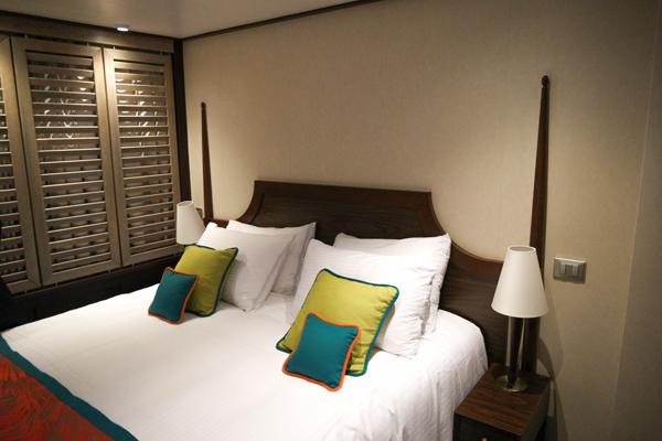 Carnival Vista Havana Suite Bedroom