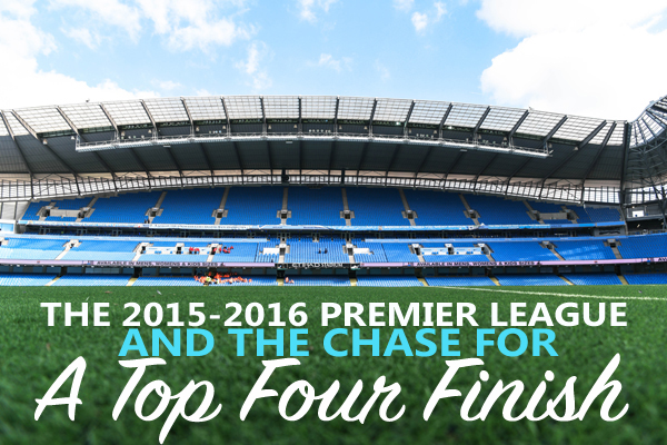 2016 Premier League Top Four Finish