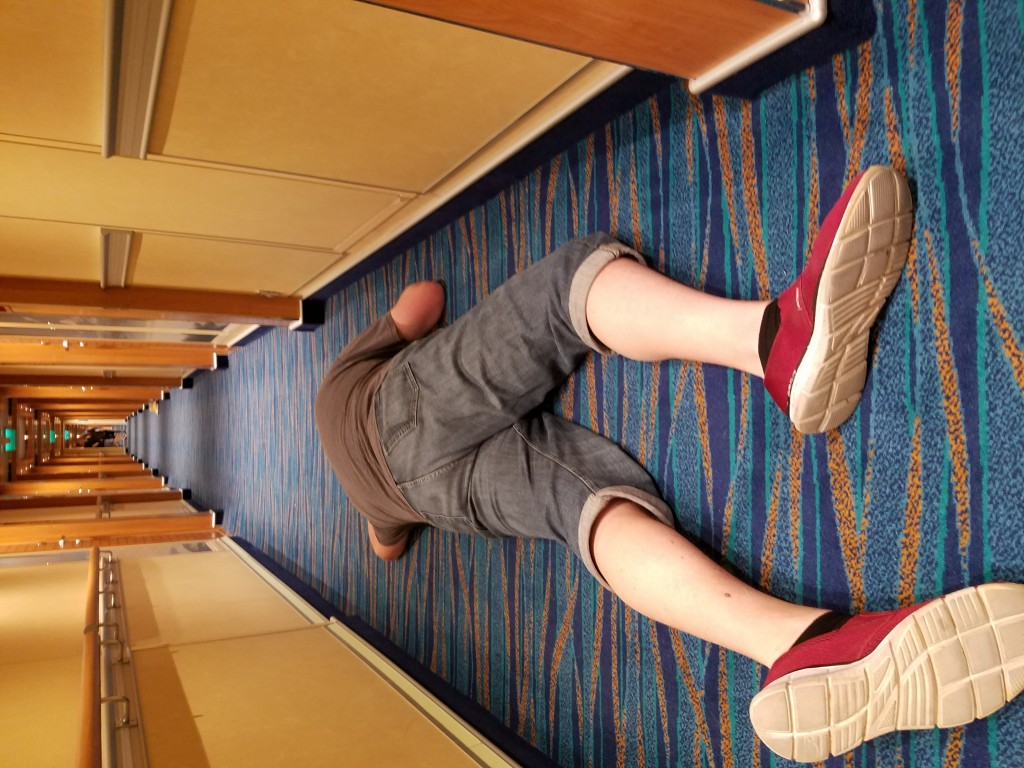 Restonic King of Rest Carnival Vista hallway sleep