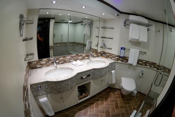 Carnival Vista Havana Suite Bathroom Sinks