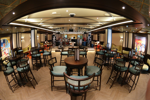 Carnival Vista Havana Lounge