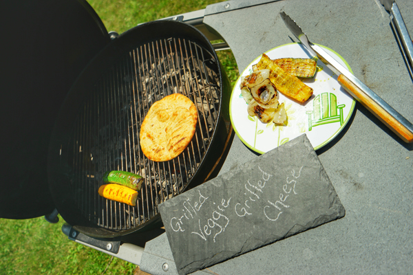 Grilled Veggie Grilled Cheese Recipe