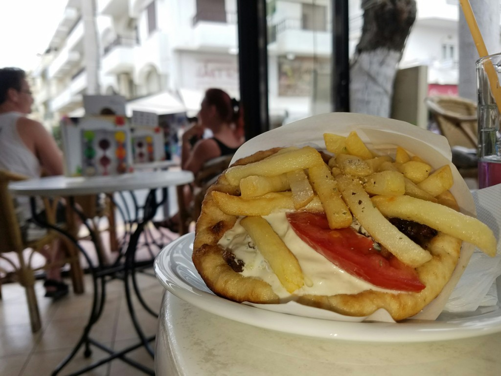 cruise-port-review-heraklion-crete-greece-gyro