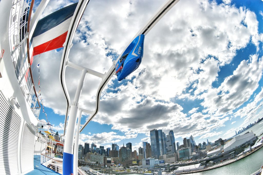 Carnival-Vista-NYC-Welcome-Party-Skyride-and-city-fisheye