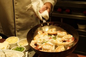 Chef Dan Vargo Seagars Hilton Sandestin best shrimp and grits recipe