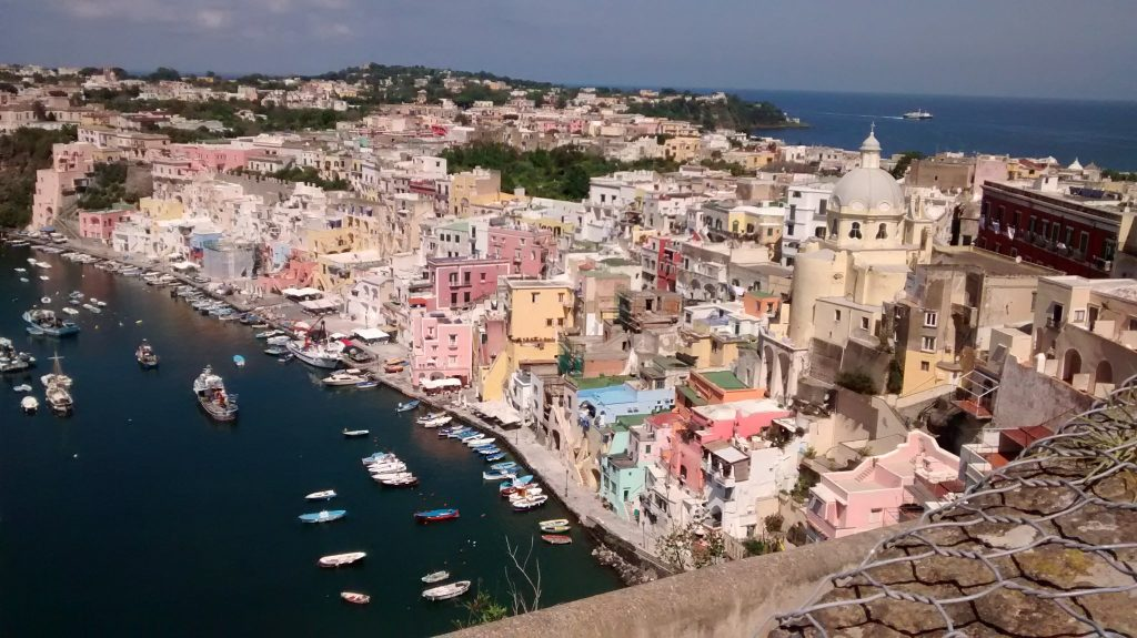 Day in Italy with Kids Procida View