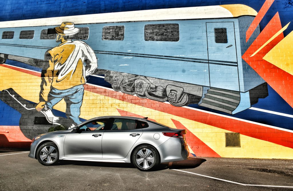 Kia-Optima-Hybrid-Chattanooga-Mural