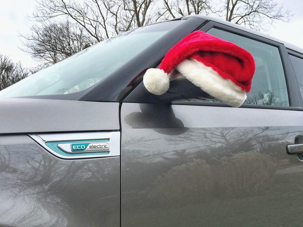 Kia Soul EV Santa