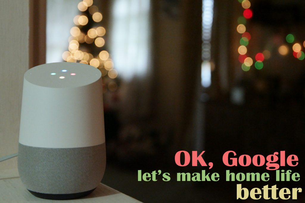 Ok Google Home Assistant Made by Google
