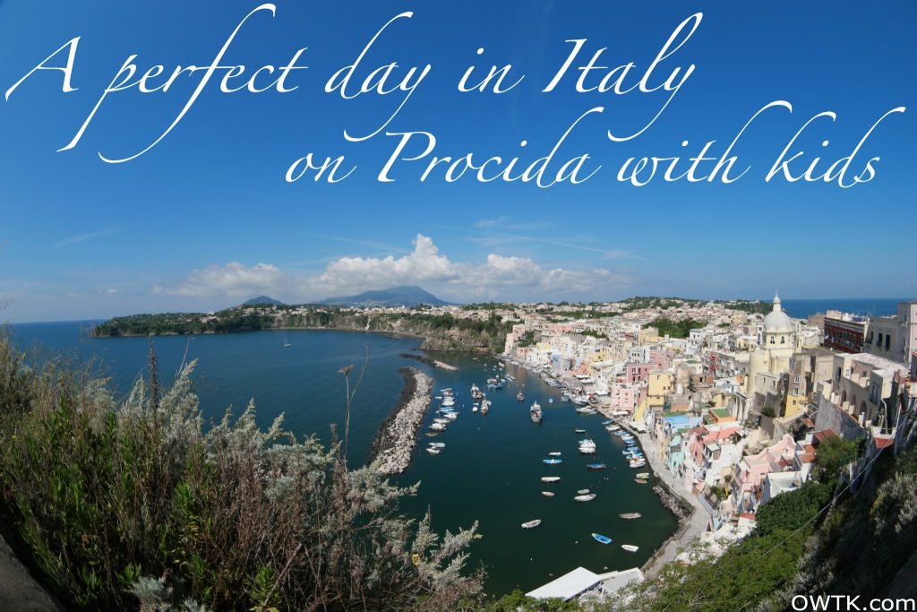 perfect day in italy with kids procida