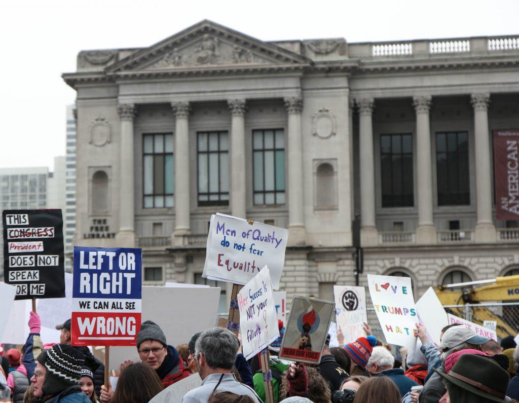 Women's March Philadelphia Jan 21 2017