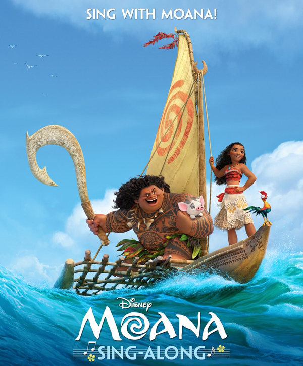Sing Along With Moana To See How Far You'll Go