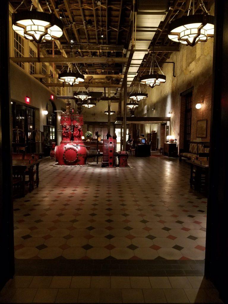 Hotel Emma San Antonio The Mighty Pen lobby