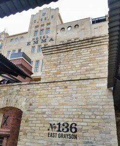 Hotel Emma San Antonio The Mighty Pen sign