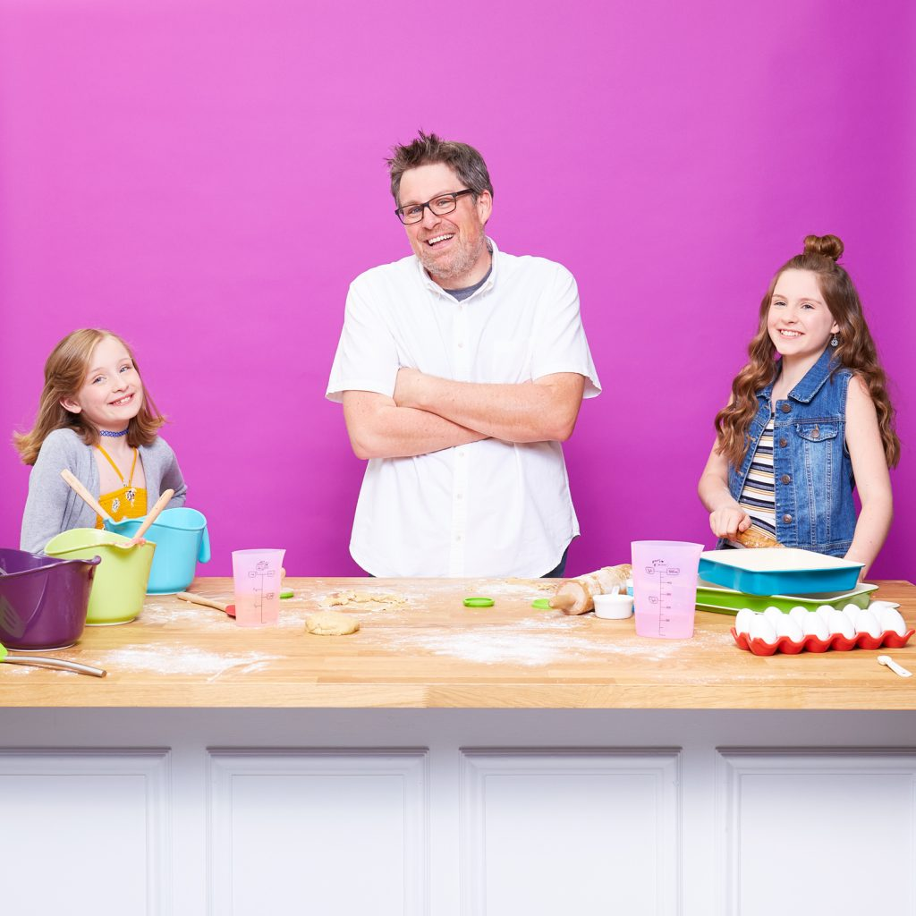 Bogle dad daughter zulily baking sales event 1