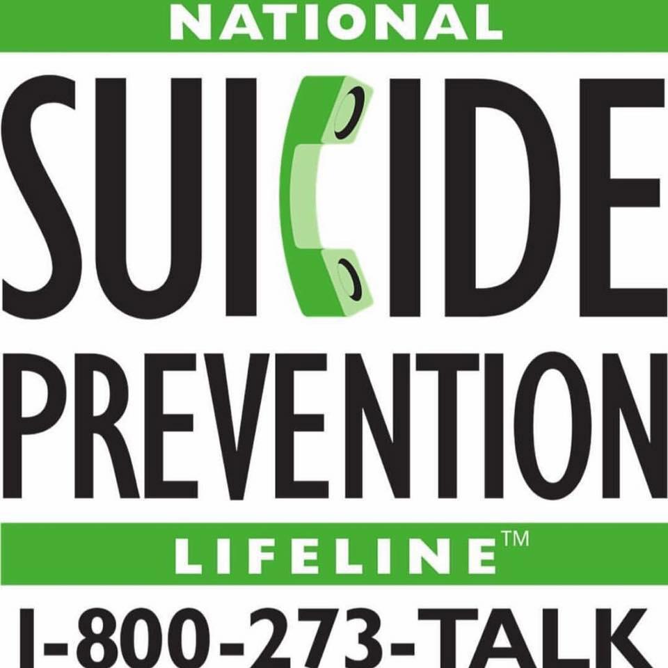 suicide prevention hotline Holding It Together