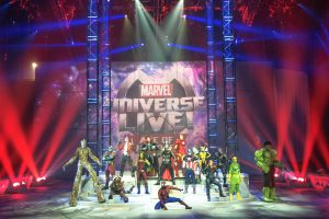 Marvel Universe Live Age of Heroes_rehearsal cast