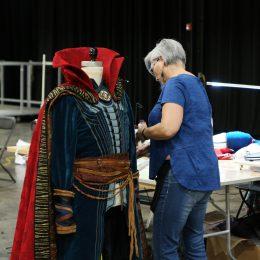 Marvel Universe Live Age of Heroes_rehearsal Dr Strange Jacket