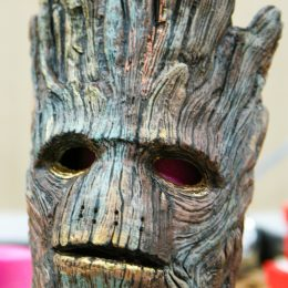Marvel Universe Live Age of Heroes_rehearsal Groot Mask