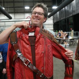 Marvel Universe Live Age of Heroes_rehearsal Star Lord Jacket