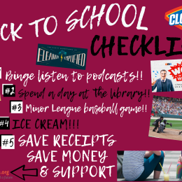 The Back To School Checklist