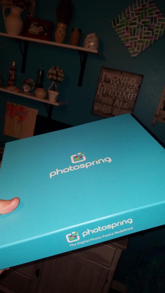 PhotoSpring WiFi Digital Photo Frame