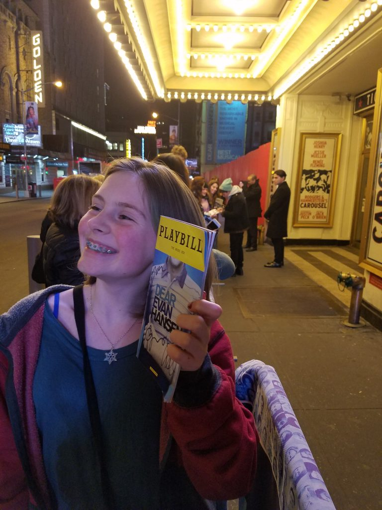 Dear Evan Hansen Music Box NYC Stage Door Autograph Hunting