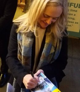 Dear Evan Hansen Music Box NYC Stage Door Autograph Hunting Rachel Bay Jones