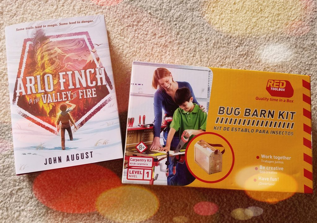 Arlo Finch Giveaway Bug Barn Woodwork Kit
