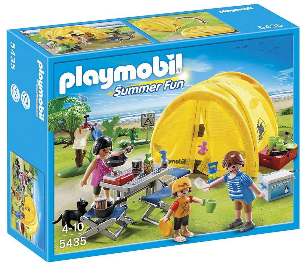 Arlo Finch giveaway Playmobil tent