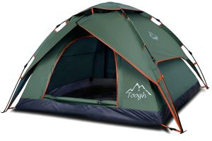 Arlo Finch giveaway tent