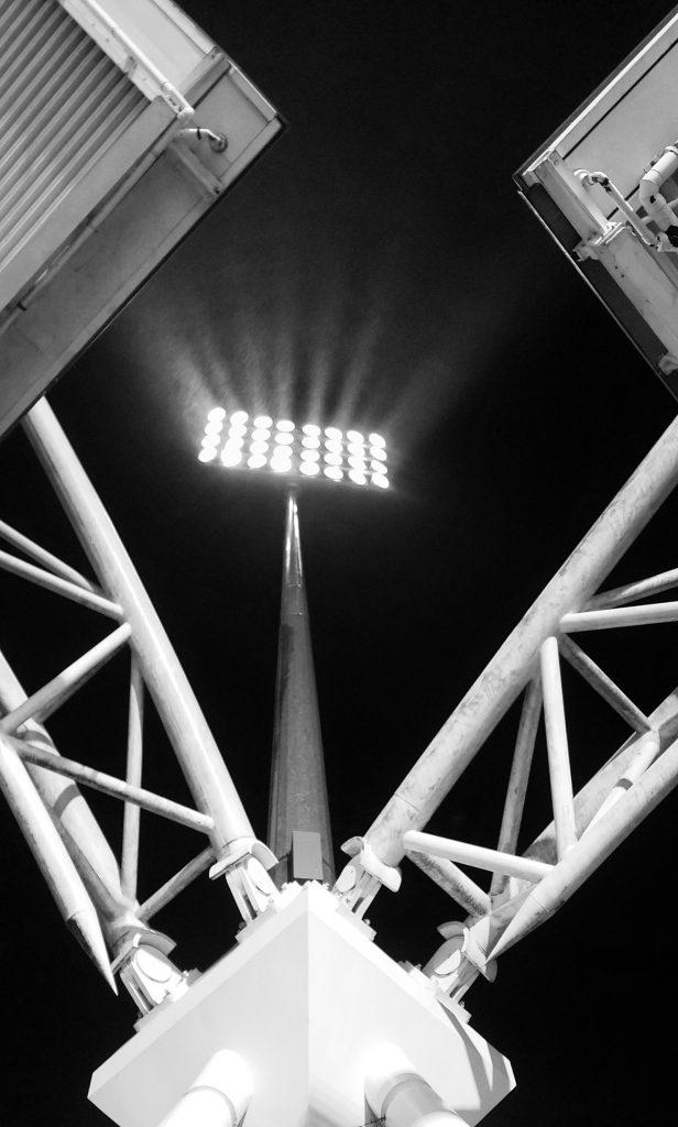 Huddersfield Town Chelsea Dec 2017 john smith's lights