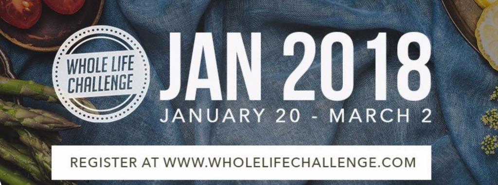 2018 Whole Life Challenge
