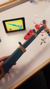 Nintendo Labo Fishing Toy Fair Sneak Peek Photos