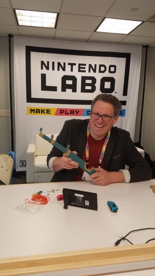 Nintendo Labo Sneak Peek from NY Toy Fair 2018