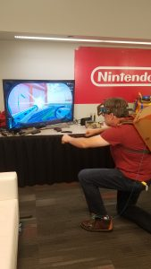 Nintendo Labo Robot Kit Toy Fair Sneak Peek Photos