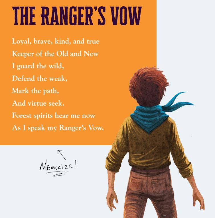 Arlo Finch Rangers Vow
