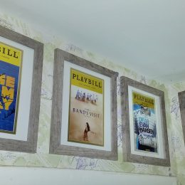 How To Frame Playbills Without Spending A Fortune