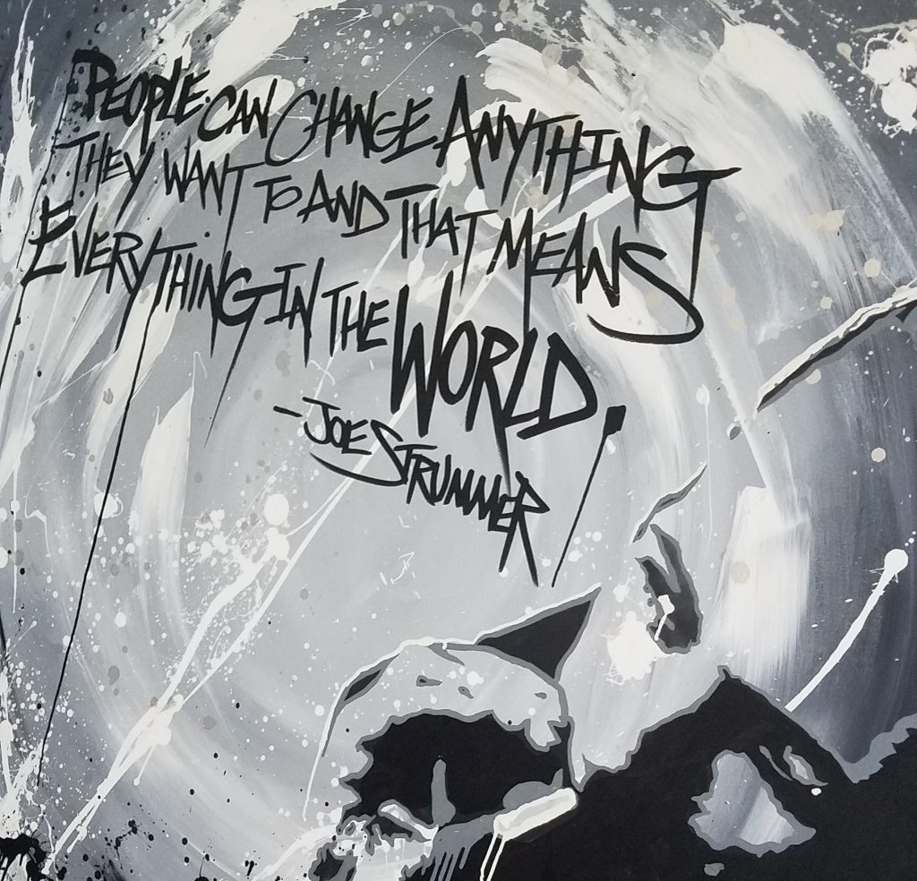 joe strummer quote art