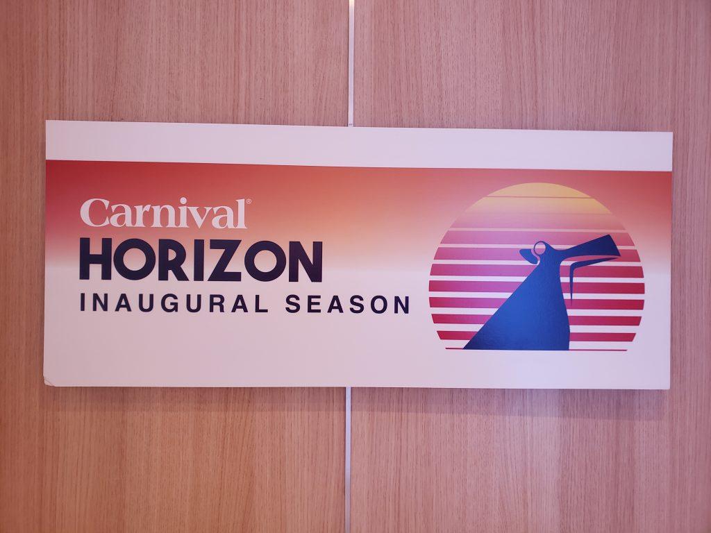 Cruising Carnival Horizon During Its Inaugural Season