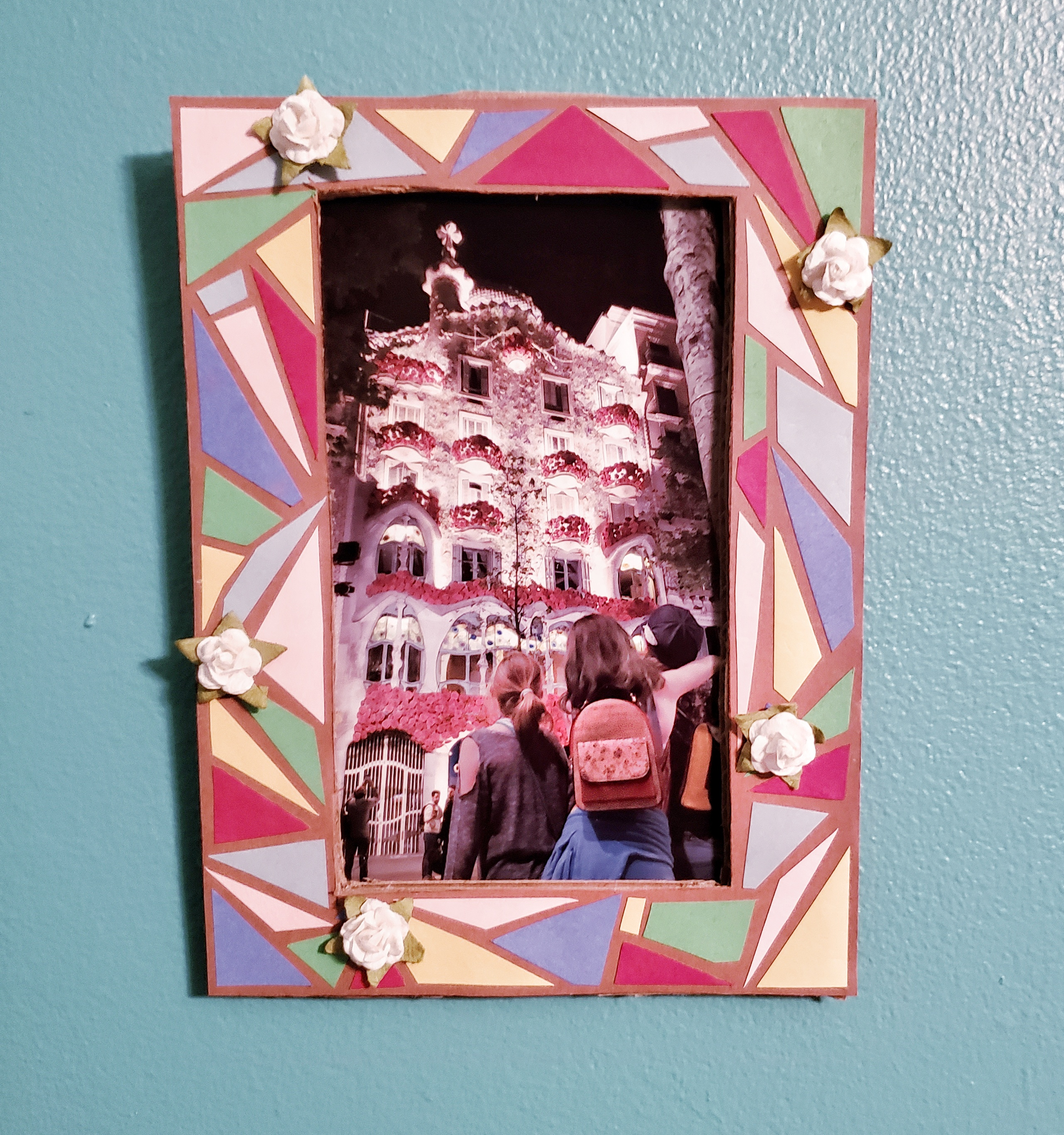 Homemade Mother's Day Picture Frame