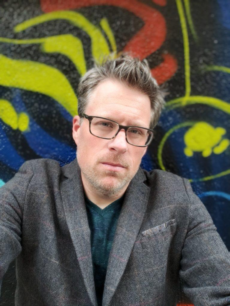 Jeff Bogle OWTK selfie downtown L.A.