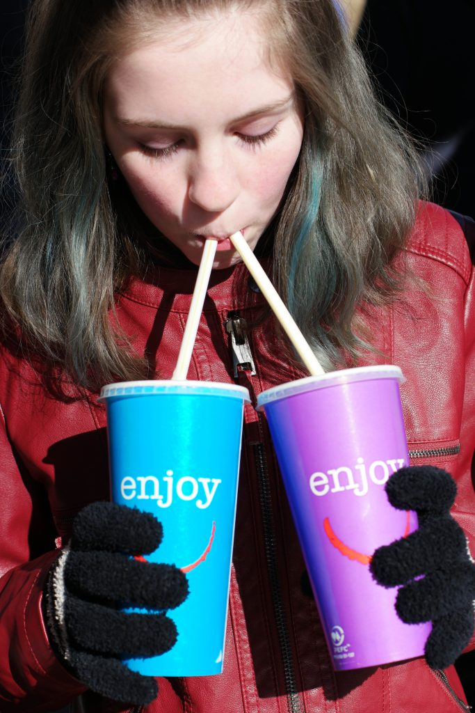 Bucket List Travel: Two ice cream milkshakes at once in Norway!